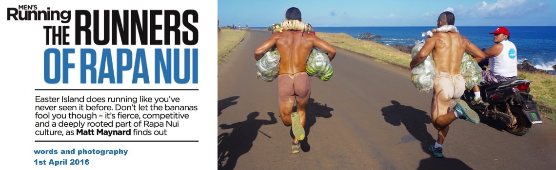 Men's Running - The Runners of Rapa Nui -